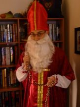 Getting ready to tell the story of St. Nicholas to the kids at church!