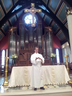 Preaching at St. Paul's Church in Indianapolis, IN